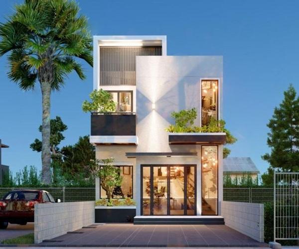 Mẫu nhà 2 tầng đẹp đơn giản hiện đại phù hợp cả nông thôn và thành thị - 23