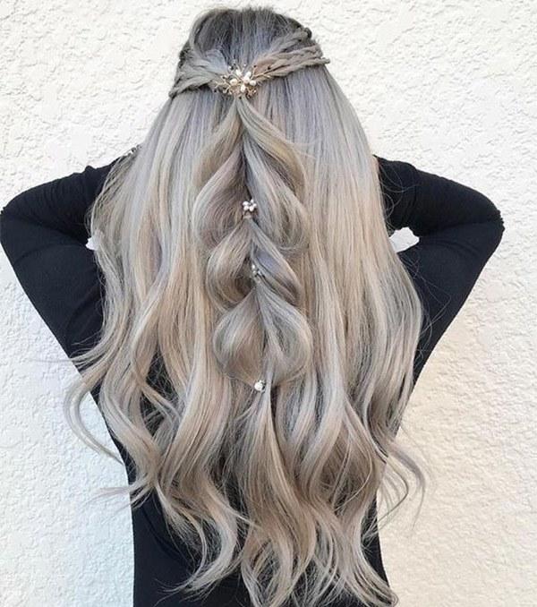 15 Kiểu nhuộm tóc màu khói đẹp thịnh hành giúp nâng tông da hiệu quả - 4