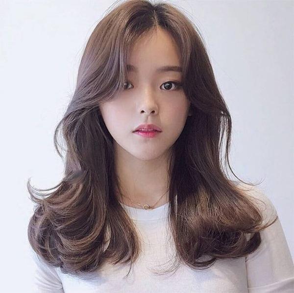 15 kiểu tóc mái dài đẹp trẻ trung phù hợp với mọi gương mặt - 16