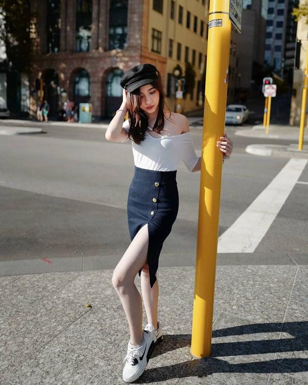 Muốn diện chân váy cho nữ tính nhưng vòng 3 xẹp lép, nàng cần biết những bí quyết này - 1
