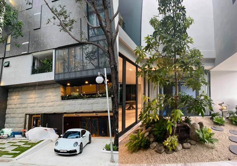 Góc vườn sang chảnh chuẩn nhà giàu trong biệt thự triệu đô của Cường Đô La và dàn sao Việt - 1