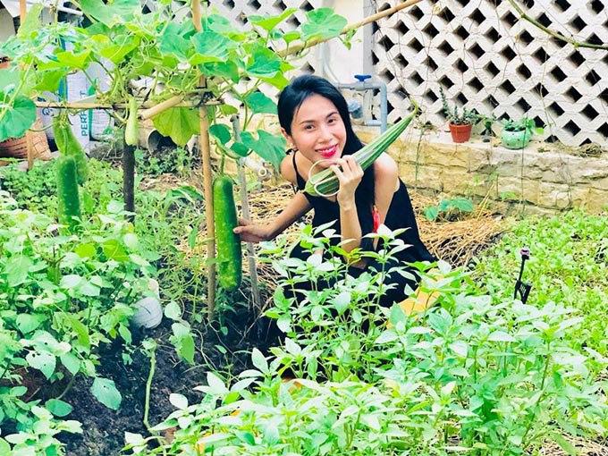 Góc vườn sang chảnh chuẩn nhà giàu trong biệt thự triệu đô của Cường Đô La và dàn sao Việt - 9