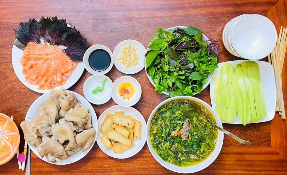 8X Thái Bình cứ nấu ăn là chồng lại xoa bụng, mỗi bữa cơm có giá 100-200 nghìn đồng - 5