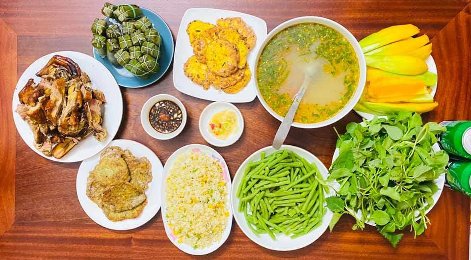 8X Thái Bình cứ nấu ăn là chồng lại xoa bụng, mỗi bữa cơm có giá 100-200 nghìn đồng - 12