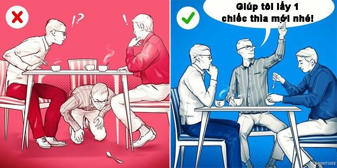 Những quy tắc ngầm cần biết để văn minh hơn khi đi ăn hàng, ăn tiệc - 3