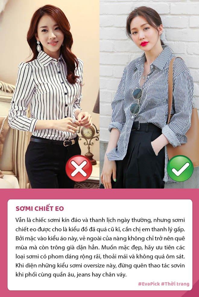 Đang trẻ măng mà mặc 6 kiểu áo này, nàng thể nào cũng bị chê lỗi thời, già dặn - 7