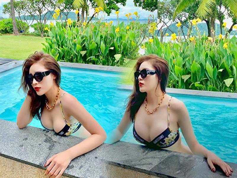 Dáng đẹp nức nở, mỹ nhânViệt vẫn mạnh tay photoshop: Lan Ngọc tay biến dạng, Hà Hồ mất đầu gối - 5