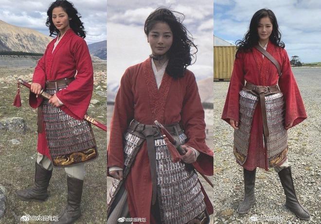 Danh tính cô gái đóng thế cho Lưu Diệc Phi, đánh bại nhan sắc của amp;#34;thần tiên tỷ tỷamp;#34; - 3