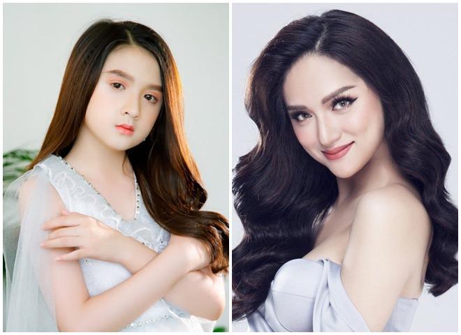 Bé gái nổi khắp Đà Lạt vì giống Hương Giang, 9 tuổi bắt xe đêm lên SG học người mẫu - 1