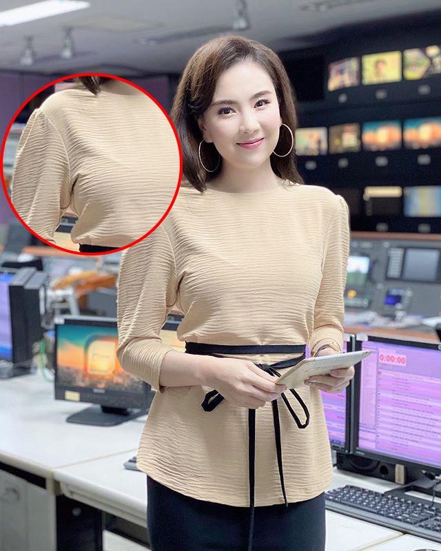 Khéo mặc như Mai Ngọc cũng để viền nội y lấp ló, chị em diện áo mỏng manh phải cẩn thận! - 4