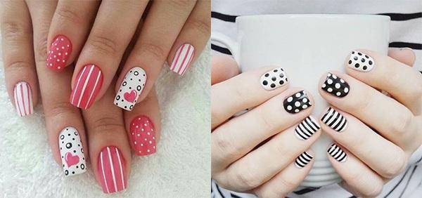 20 mẫu nail xinh đẹp đơn giản nhẹ nhàng dẫn đầu xu hướng hiện nay - 1