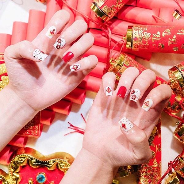 20 mẫu nail xinh đẹp đơn giản nhẹ nhàng dẫn đầu xu hướng hiện nay - 11