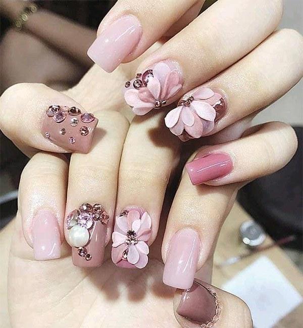 20 mẫu nail xinh đẹp đơn giản nhẹ nhàng dẫn đầu xu hướng hiện nay - 12