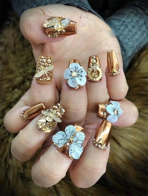 20 mẫu nail xinh đẹp đơn giản nhẹ nhàng dẫn đầu xu hướng hiện nay - 17