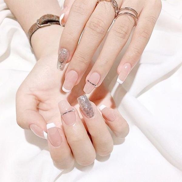 20 mẫu nail xinh đẹp đơn giản nhẹ nhàng dẫn đầu xu hướng hiện nay - 6