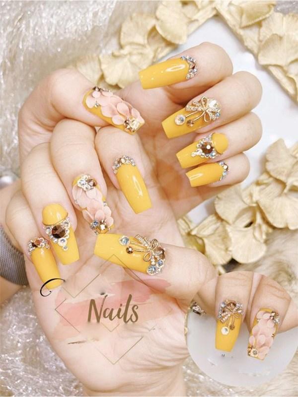 20 mẫu nail xinh đẹp đơn giản nhẹ nhàng dẫn đầu xu hướng hiện nay - 9