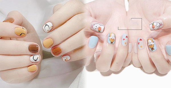 20 mẫu nail xinh đẹp đơn giản nhẹ nhàng dẫn đầu xu hướng hiện nay - 10