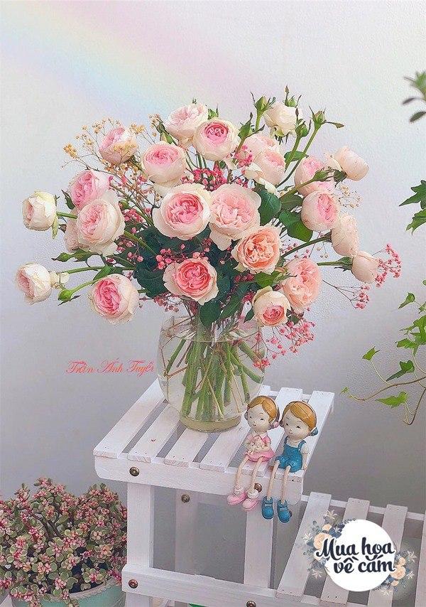 Không nước rửa bát, chẳng dùng đường, đây mới là thứ giúp mẹ Hà Nội cắm hoa không thối hỏng - 19