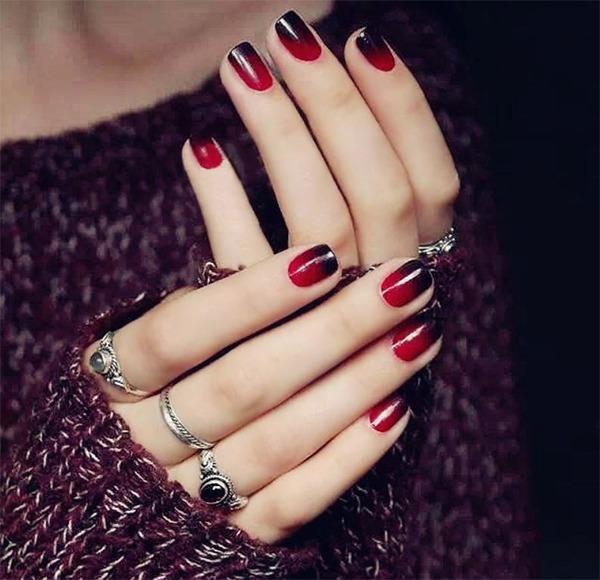Những mẫu nail ombre đẹp trẻ trung được yêu thích nhất hiện nay - 11