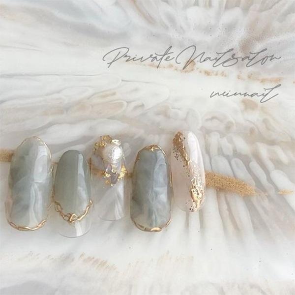 Những mẫu sơn gel đẹp nhẹ nhàng khiến phái nữ mê mẩn - 1
