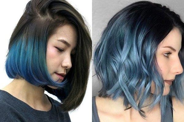 Những màu tóc xanh rêu đẹp ấn tượng phù hợp với mọi gương mặt - 7