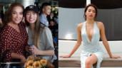 Mặc váy cũ của mẹ, con gái 21 tuổi của Thanh Hà trông nóng bỏng với vòng 1 căng tròn