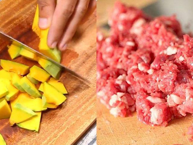Cách nấu cháo thịt bò hạt sen tuy đơn giản mà thơm ngon bất ngờ