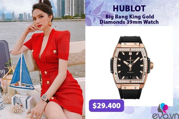 Hương Giang - Hoà Minzy đúng chuẩn cặp chị em giàu sụ khi độ đồng hồ nạm kim cương đôi - 1