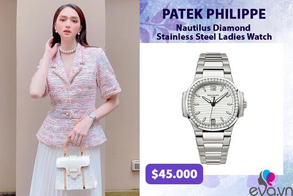 Hương Giang - Hoà Minzy đúng chuẩn cặp chị em giàu sụ khi độ đồng hồ nạm kim cương đôi - 4