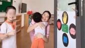 Cô giáo mầm non xinh đẹp và màn chào buổi sáng khiến các bố nháo nhào muốn xếp hàng