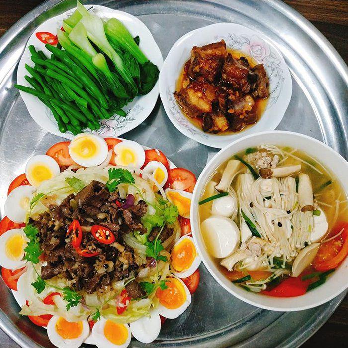 9X Đồng Nai đã xinh còn đảm, mỗi tháng chi 3 triệu tiền ăn, mâm nào cũng đầy ắp đồ - 12