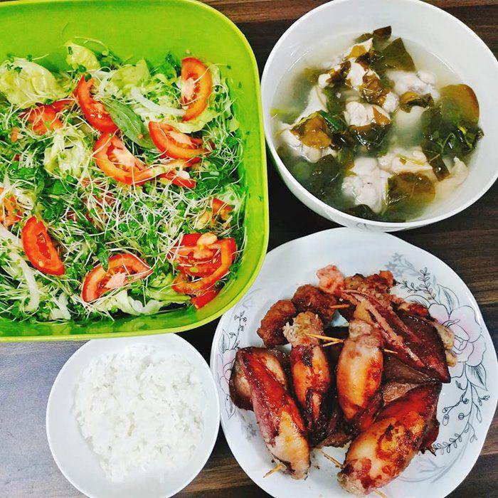 9X Đồng Nai đã xinh còn đảm, mỗi tháng chi 3 triệu tiền ăn, mâm nào cũng đầy ắp đồ - 14