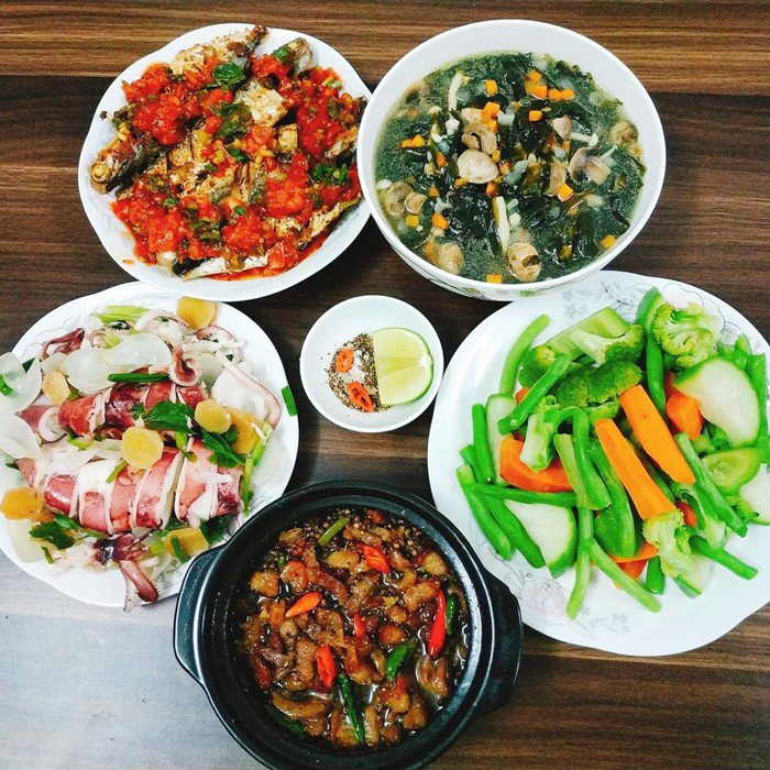 9X Đồng Nai đã xinh còn đảm, mỗi tháng chi 3 triệu tiền ăn, mâm nào cũng đầy ắp đồ - 6
