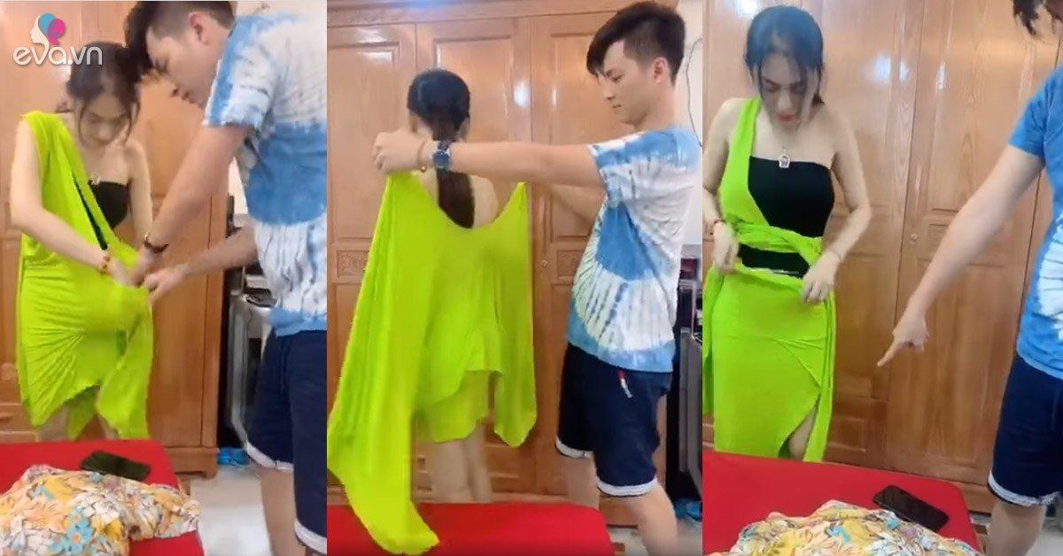 Diệnđồ như phá: Lâm Khánh Chi suýt xé luôn đầm mới mua chỉ vì không biết mặc