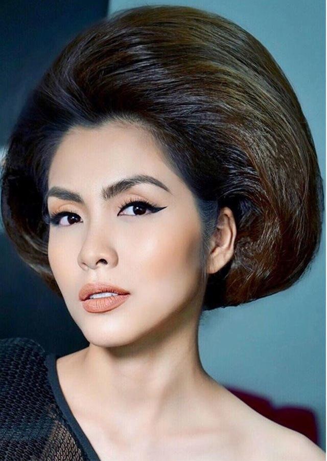 Muôn kiểu tóc khủng của sao: tóc chân rết của Thanh Hằng không đọ lại tháp tóc của Khánh Vân - 8