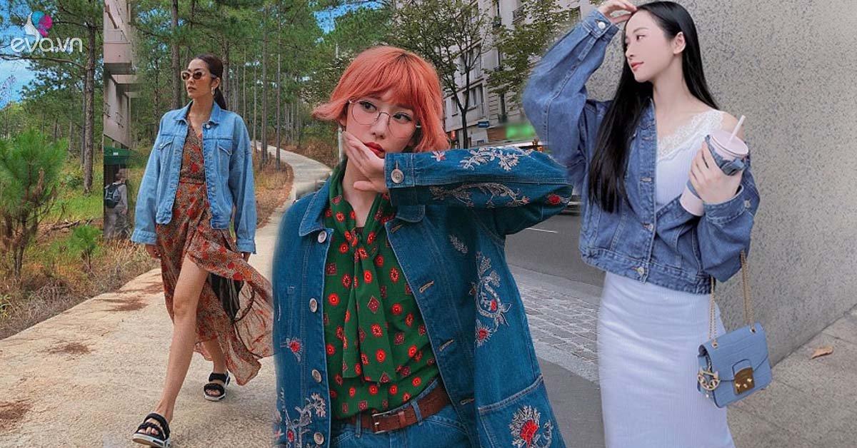 Kiểu áo khoác cá tính được dàn mỹ nhân Việt ưu ái, diện vào mùa thu là chuẩn xinh