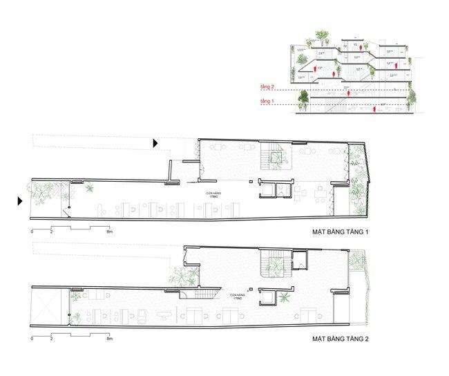 Nhà ống Hà Nội với bề ngang nhỏ hẹp được vinh danh 50 ngôi nhà hàng đầu TG - 7