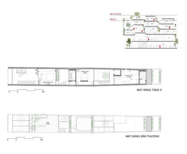 Nhà ống Hà Nội với bề ngang nhỏ hẹp được vinh danh 50 ngôi nhà hàng đầu TG - 8