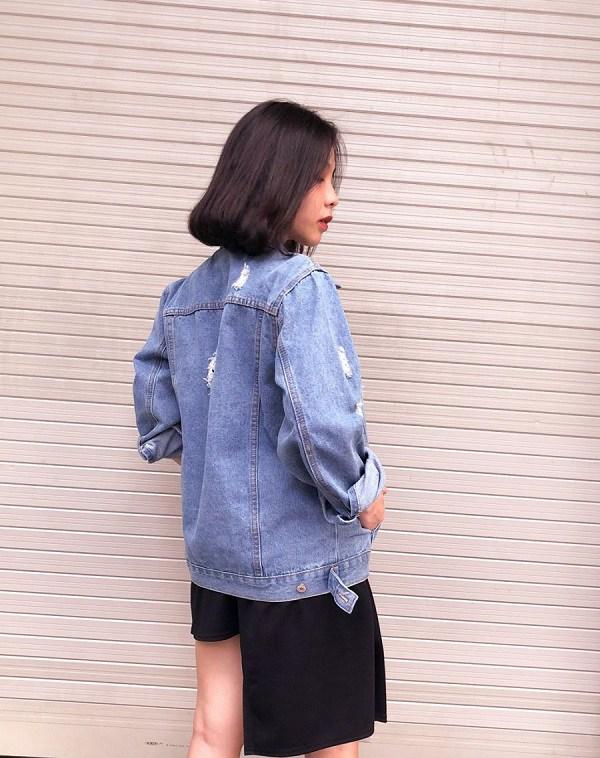 Kiểu áo khoác cá tính được dàn mỹ nhân Việt ưu ái, diện vào mùa thu là chuẩn xinh - 15