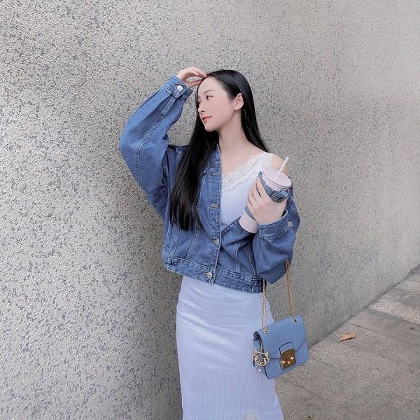 Kiểu áo khoác cá tính được dàn mỹ nhân Việt ưu ái, diện vào mùa thu là chuẩn xinh - 8