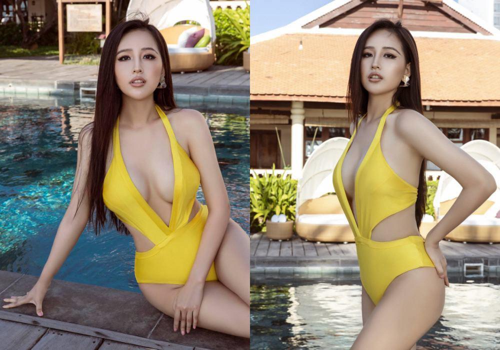 Mai Phương Thúy diện bikini khoe ngực căng tròn, hé lộ vai trò của bạn trai trên giường