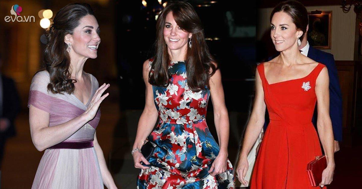 Mẹ 3 con Kate Middeton mặc đẹp váy cộc tay nhờ bộ phận...