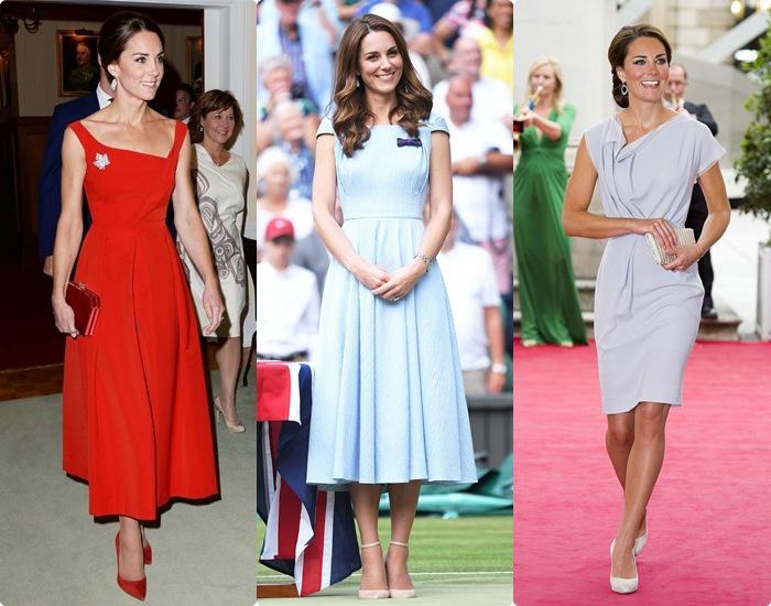 Mẹ 3 con Kate Middeton mặc đẹp váy cộc tay nhờ bộ phận không chút mỡ thừa này - 1
