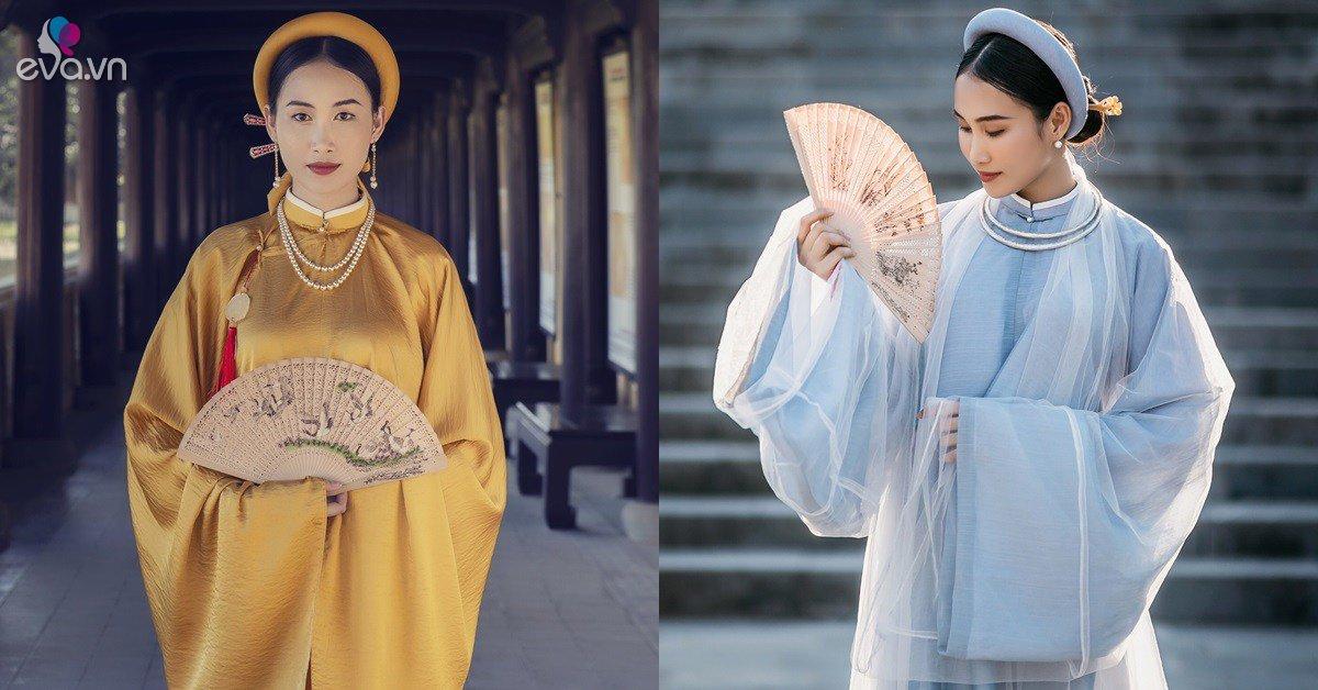 Đoàn Hồng Trang quyền uy với trang phục cổ tại Kinh thành Huế