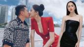 Hương Giang bình thường kín cổng cao tường, mỗi khi hẹn hò Matt Liu là mặc hở hết sức