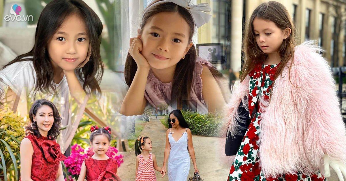 Tiểu công chúa của nhà sao Việt đẹp từ trứng nước, CĐM ủng hộ đi thi Hoa hậu từ bé