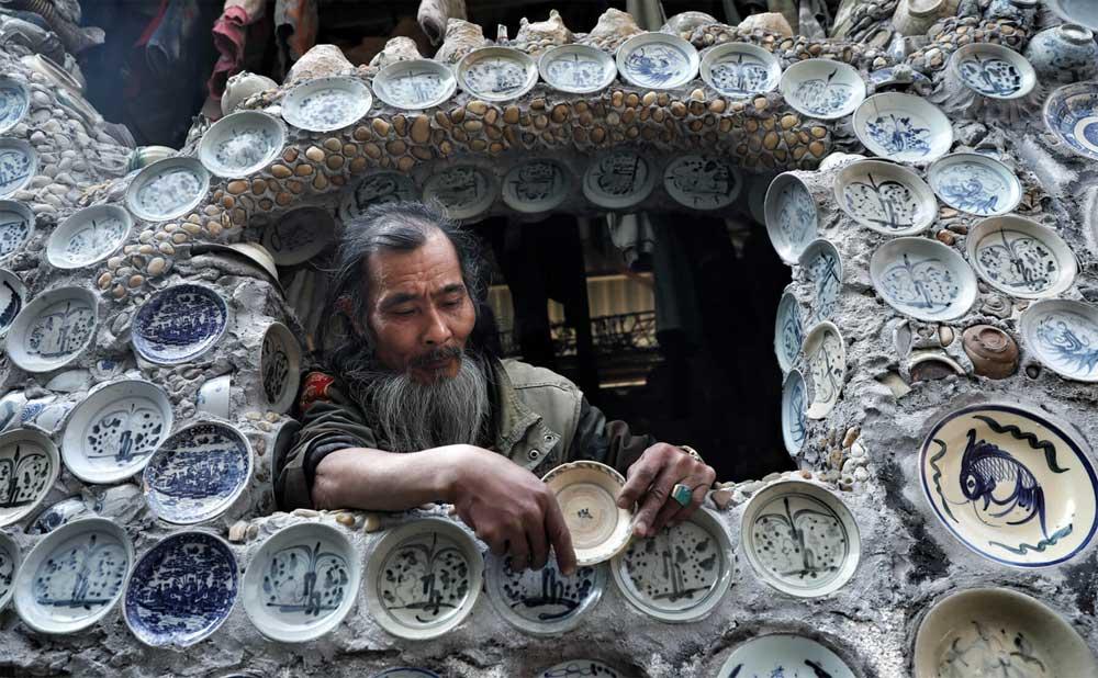 Báo nước ngoài amp;#34;đuaamp;#34; nhau đưa tin về ngôi nhà Việt gắn 10.000 chiếc đĩa gốm sứ - 3