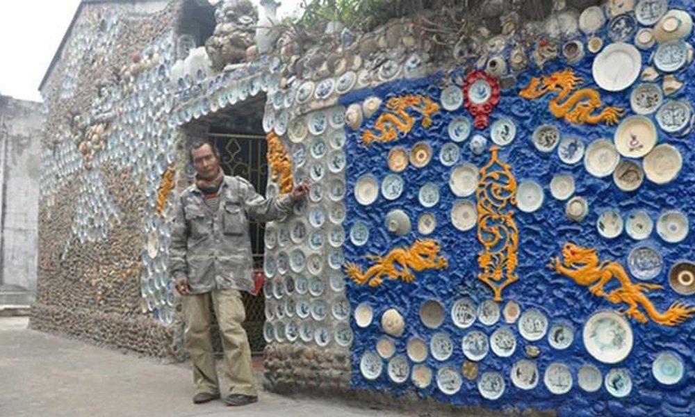 Báo nước ngoài amp;#34;đuaamp;#34; nhau đưa tin về ngôi nhà Việt gắn 10.000 chiếc đĩa gốm sứ - 6
