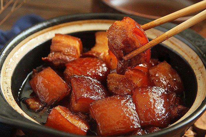 Thịt kho không cần nước, vẫn thơm mềm màu đỏ, ai nhìn cũng muốn ăn 3 bát cơm - 8