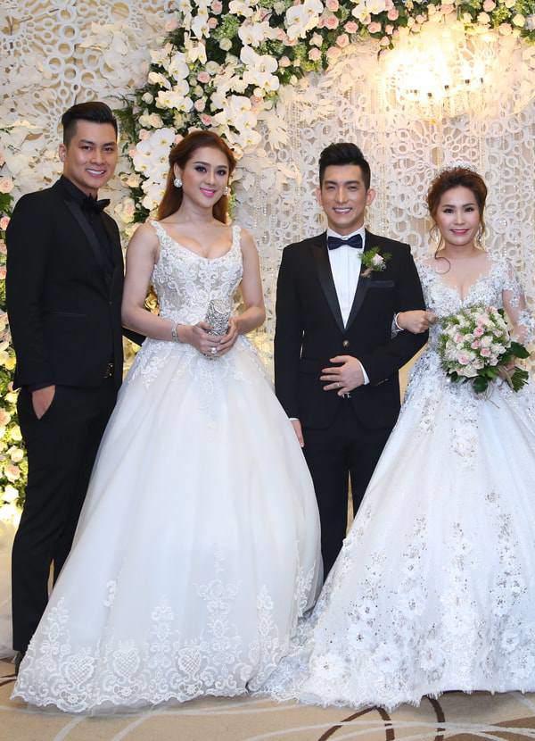 Lâm Khánh Chi, ngôi sao ăn mặc kém duyên nhất khi dự đám cưới của hội bạn thân - 1